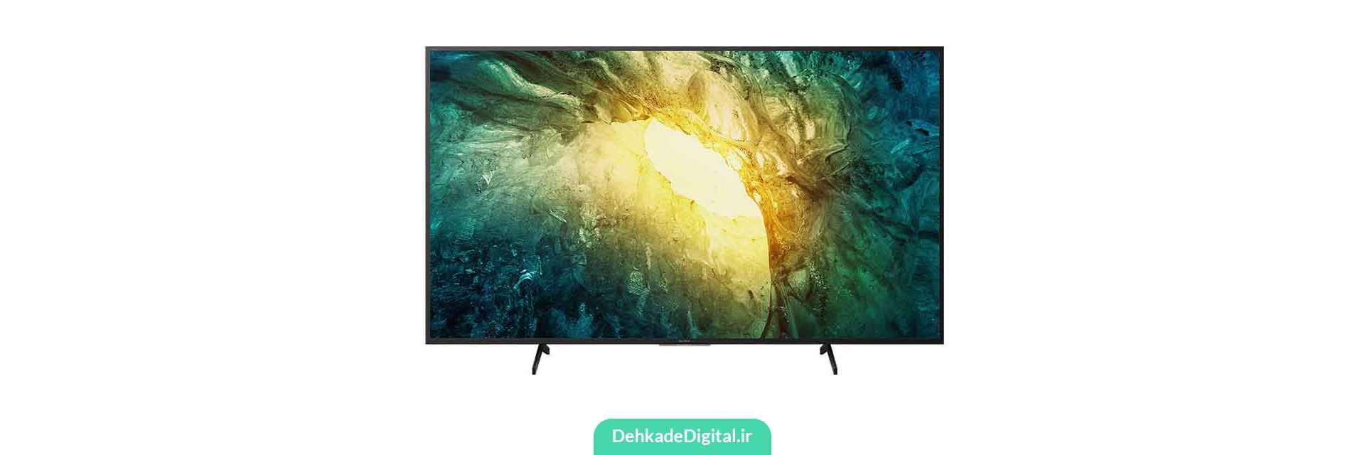 معرفی تلویزیون های سونی X7500H65